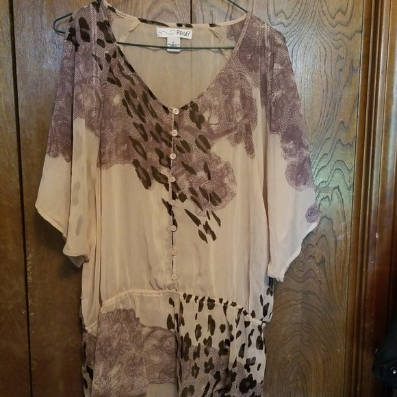 RXB Tops - NWOT RXB adorable flowy top